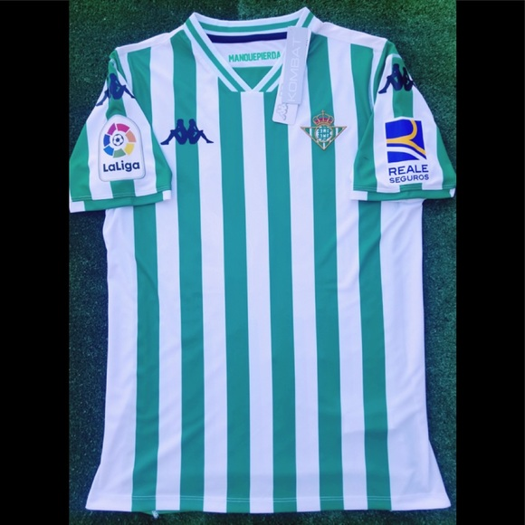 181fa31c7 2018 19 Real Betis soccer jersey Kappa Lainez